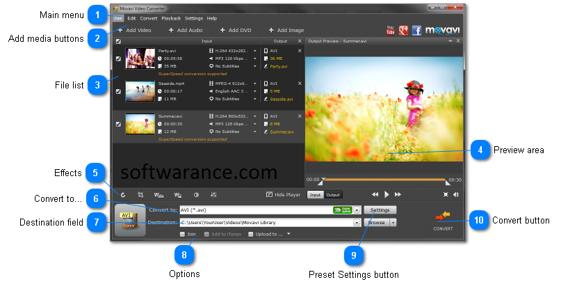 Movavi Video Editor 15 Crack With Activation Key Free Download