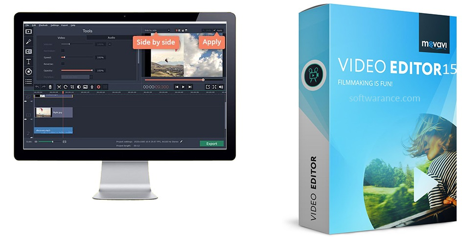 Movavi Video Editor 20.3.0 Crack + Keygen Torrent Free 2020