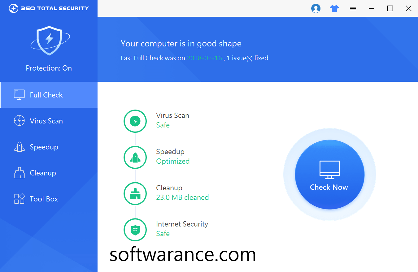 360 Total Security 10.6.0.105 Crack + License Key Free Download 2019