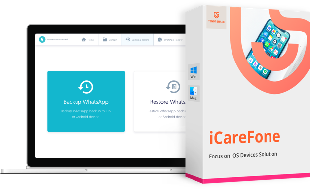 Tenorshare iCareFone 7.6.3 Crack Download [2021]